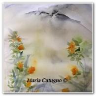 Etnea - Acquerello - cm.30x42 - carta 300 gr