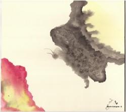 La falena- Acquerello - cm.15x21 - carta 300gr.