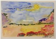 Calura - Acquerello - cm.15x21 - carta 300gr.
