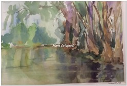 Besozza - Acquerello - cm.35.5x51 - carta 300gr.