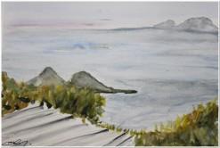 Vista Eolie Studio - Acquerello - cm.21x30 - carta 300gr.