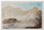 Velata di neve - Acquerello - cm.15x21 - carta 300gr.